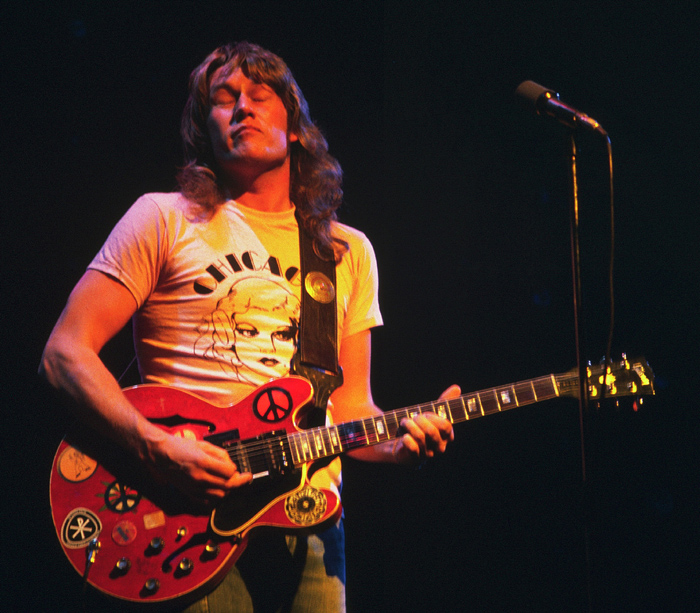 Alvin Lee At Chicago Auditorium 1975 Photos By Jim Summaria